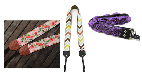 Holiday Gift Guide - camera straps