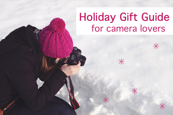 Holiday Gift Guide for camera lovers