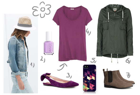 Colors of Spring: radiant orchid & neutrals - Eva Thoeni