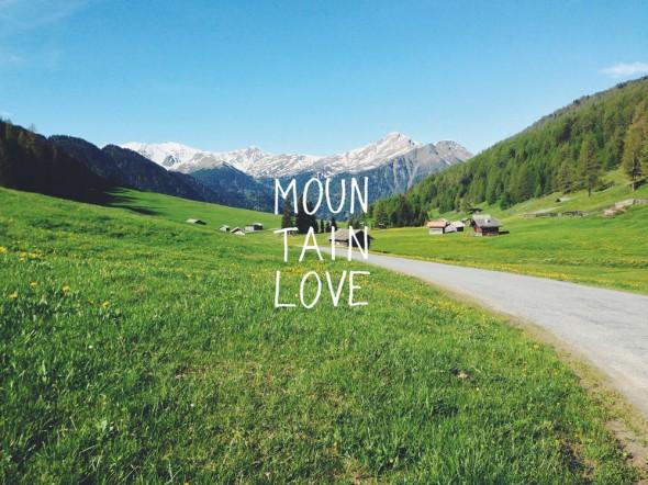 Mountainlove by Eva Thöni