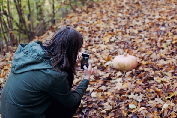 Fall photo shoot by Eva Thöni